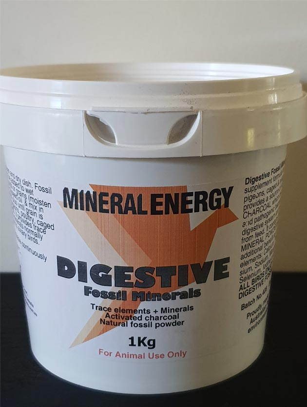 DigestiveFossilMinerals