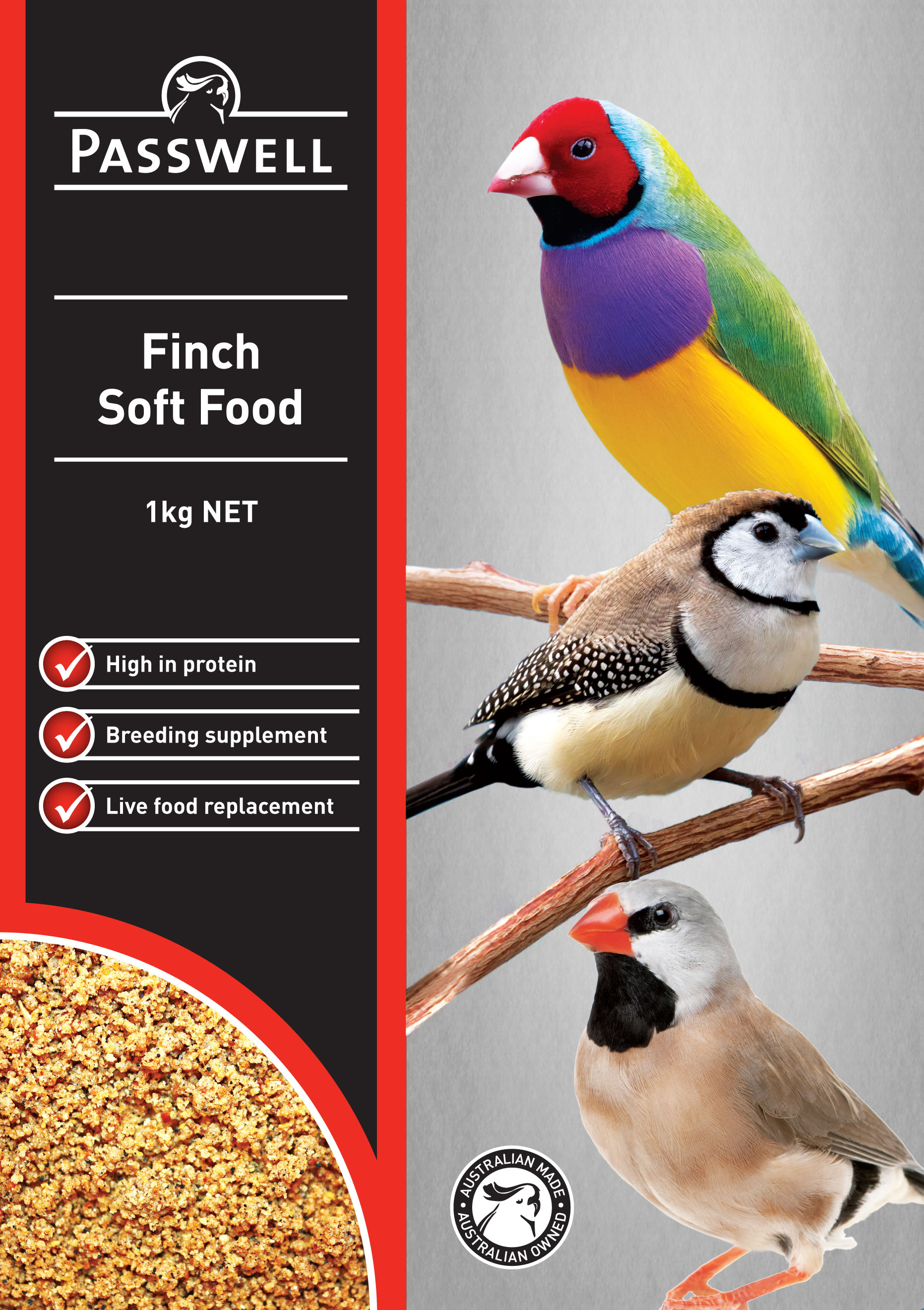 Finch Soft Food image
