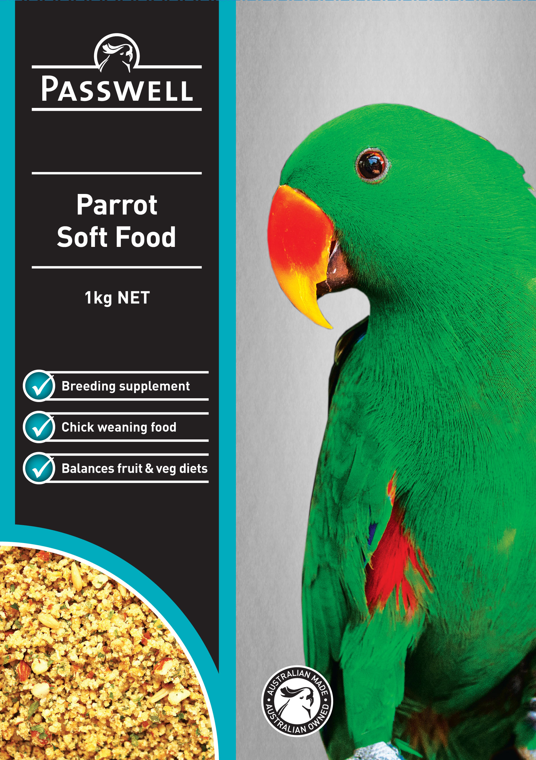 Parrot Soft food image