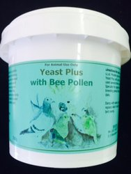 Yeast Plus with Bee Pollen 500 gr  image