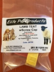 Lamb Teat with Screw Cap  image